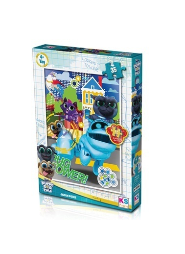 Ks Games  Puppy Dog Pals Puzzle 35 PDP706 Renkli